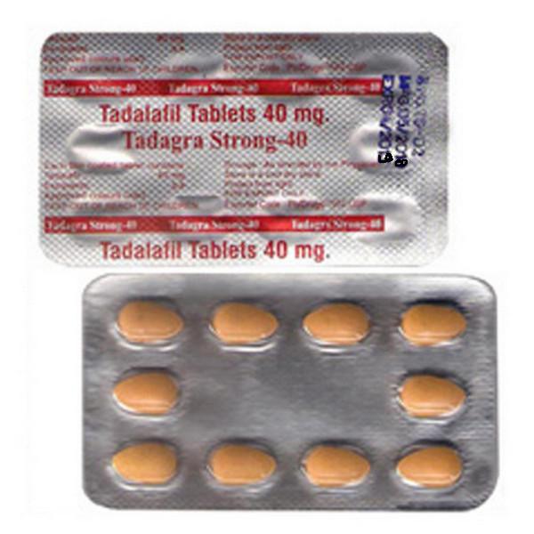 TADALAFIL buy in USA. Tadagra Strong 40 mg - price and reviews