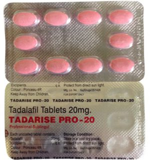 TADALAFIL buy in USA. Tadarise Pro 20 - price and reviews